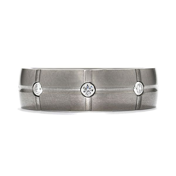 Hearts on Fire Men's Wedding Bands